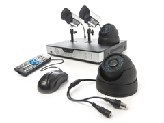 8-Channel/4-Camera CCD