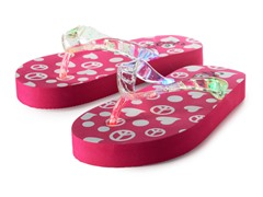 Light Up Flip-Flops - Pink