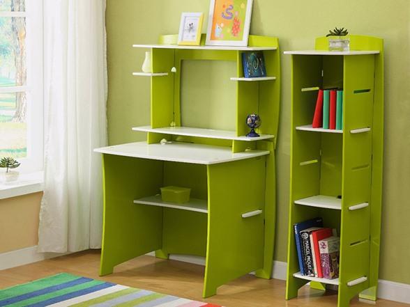 lime white 3 shelf bookcase. Black Bedroom Furniture Sets. Home Design Ideas