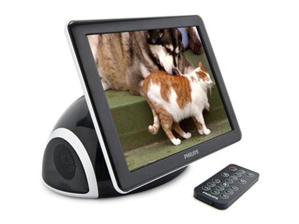 Philips Boomboom 8 Digital Photo Frame Usb Sub Display Gadget Hub