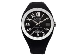 Men's BOX 40 BLACK Black Dial Watch