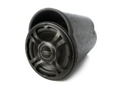 "BT Series 10"" 250W Amplified Tube Sub"