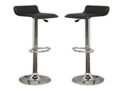 Vita Black Bar Stool- Set of 2