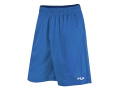 Solid Mesh Training Shorts, Blue (S)