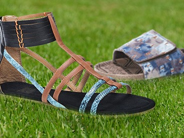 Muk Luks Sandals, Slippers, and Slip-Ons