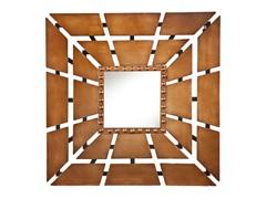 Square Burst Decorative Mirror
