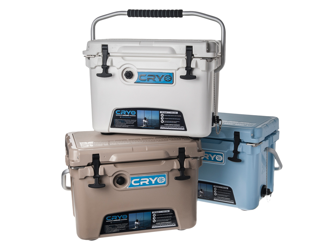 Twisted Root Design 20L Cryo Coolers (Multiple Colors)