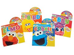 Read & Sing with Sesame Street Book Set