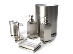 Harmony 6-PC Brushed Nickel Bath Set