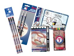 Texas Rangers MLB Team Notepad Set