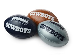 Dallas Cowboys Mini Footballs 3-Pack