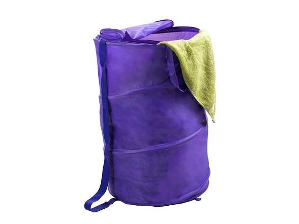 Breathable Pop Up Clothes Hamper 3 Colors