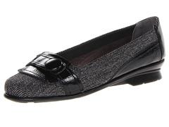 Aerosoles Raspberry Flat, Black Silver