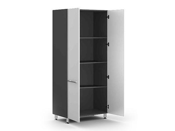Tall 2 Door Garage Storage Cabinet