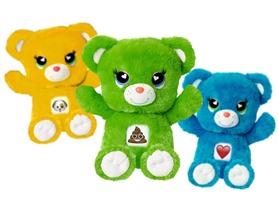 14'' Plush Emoji Bears, 6 Choices
