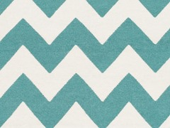 Teal/Ivory Hand Woven Rug (6-Sizes)