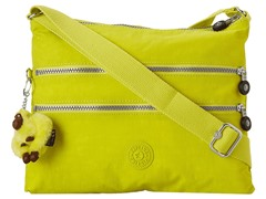 Alvar Shoulder/Cross-Body Travel Bag, Honey Dew