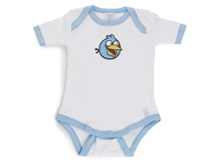 Blue Angry Bird Infant Bodysuit