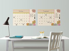 St Tropez Monthly Calendar with Notes - Set of 2