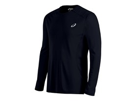 ASICS Men's Lite-Show Long Sleeve Top, Performance Black, XL