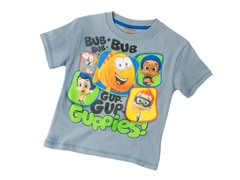 Bubble Guppies Tee - Pewter (2T-4T)