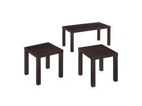 3Pk. Walker Edison Coffee Table Set