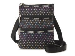 LeSportsac Kasey Xbody Handbag,Heartbeat
