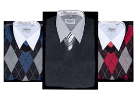 Berlioni Men's Sweater Set, Your Choice