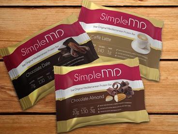 SimpleMD Mediterranean Diet Protein Bars