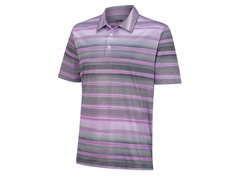 ClimaCool Gradient Stripe Polo - Grape/Chrome