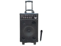 800 Watt VHF Wireless Battery Powered PA System