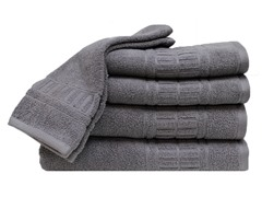 Zero Twist Quick Dry 6Pc Set-Gray