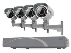 8CH 500GB DVR Kit w/ 4 x 600 TVL Cams