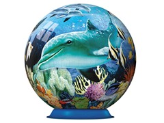 540-Pc Underwater World 3-D Puzzle Ball