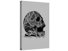 Celtic Skull Gallery Wrapped Canvas 2-Sizes