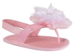 Pink Glitter Sandal (Infant 0-2)