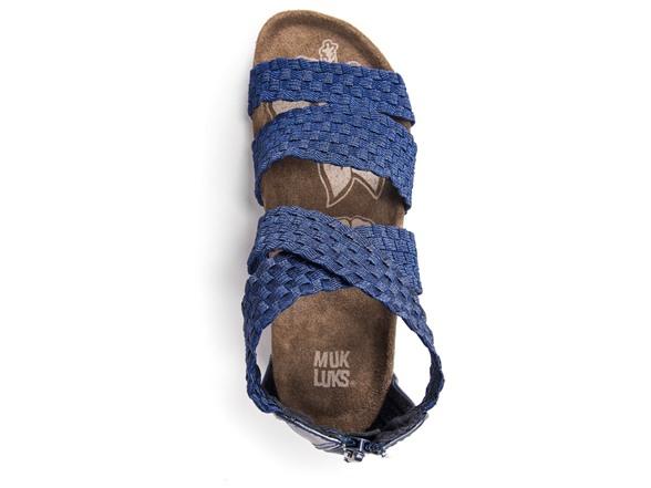 a94766eec968 MUK LUKS Women s Elle Wedge Sandals