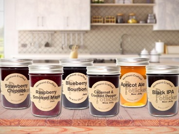 Potlicker Kitchen Jam & Jelly Sampler