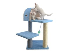 "30"" Cat Tree - Sky Blue"