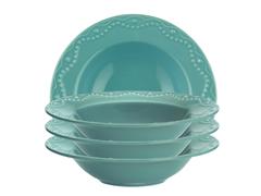 "Paula Deen Whitaker 9"" Soup Bowls - 4"