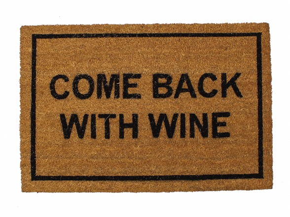 Clever doormats come back with wine - Clever doormats ...