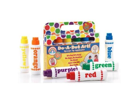 Do.A.Dot Art! Markers- 6-Pack, Rainbow c7ba921c-9200-4a7a-a1d7-ef26faa81715
