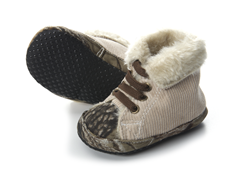 """Toasty"" Fleece Collar Infant Shoe"