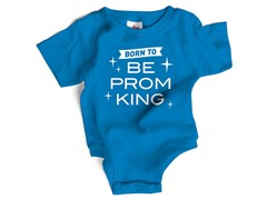 """Prom King"" in Blue (0-12 mos)"