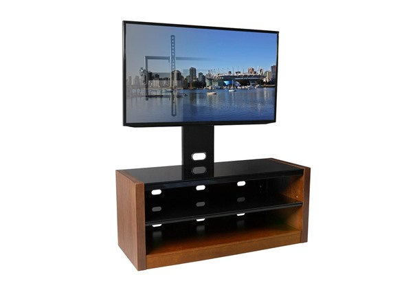 Tv Stand With Tilt Swivel Mount For 37 70 Tvs