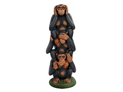 Evil Monkeys Grand Scale Statue