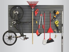 Proslat 32-Sq. Ft. Slatwall Organizer & 10-Piece Hook Kit