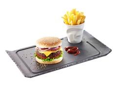 """Basalt Burger / Gourmet Plate 13"""" x 7.75"""""""