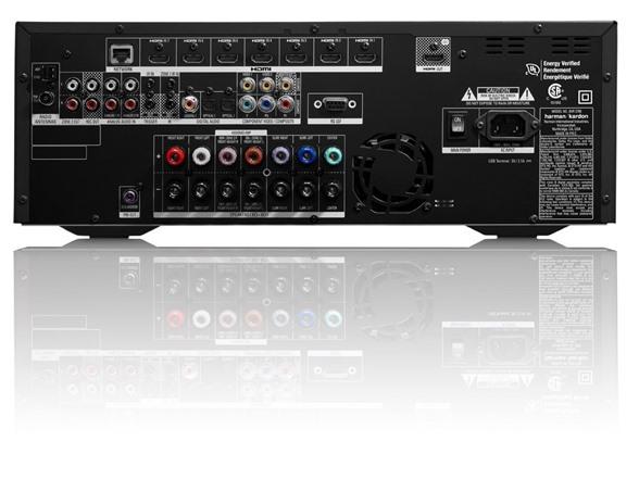 Harman Kardon AVR 2700 7.1-Channel 100-Watt Network-Connected Audio//Video Receiver
