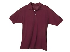 Maroon w/ Contrast Buttons